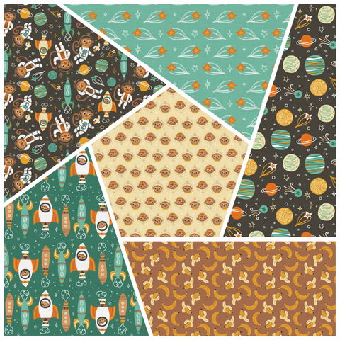 Space Monkey Fat Quarter Bundle