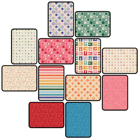 Sewing Mood Fat Quarter Bundle