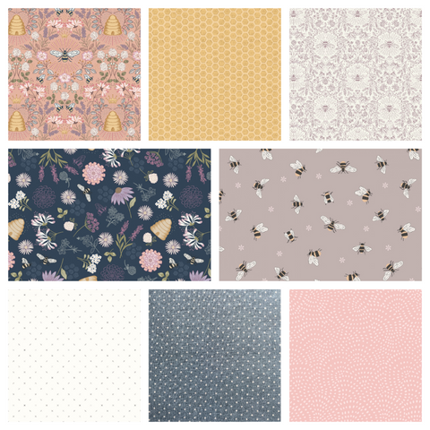 Queen Bee Fat Quarter Bundle