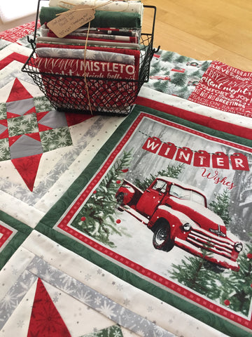 Holiday Wishes Quilt Kit