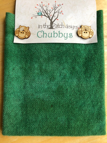 "Chubbys 16"" Felted Wool Squares - Assorted Colours"