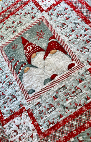 Winter Whimsy Flannel Quilt Kit