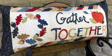 Gather Together Bench PIllow Class