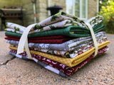 Rustic Christmas Fat Quarter Bundle