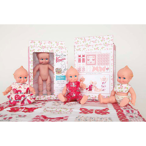"Kewpie Doll Kit  (8"" Kewpie Doll & fabric panel included)"