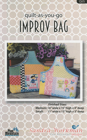 Improv Bag - Quilt as you Go