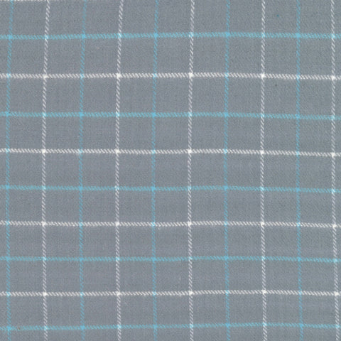 Primo Plaid Flannel - Blue Ice