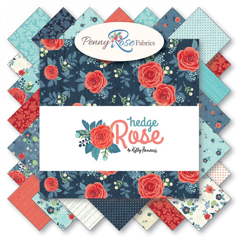 Rose Hedge Fabric Roll