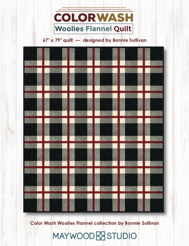Colorwash Woolies Flannel Quilt Kit