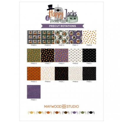 Happy Jacks & Friends Flannel - Fat Quarter Bundle