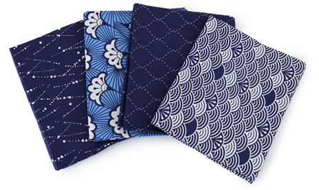 Kimono-Waves Fat Quarter Bundle