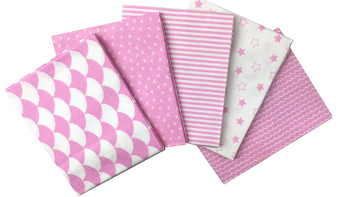 Nursery Basics - Pink Fat Quarter Bundle