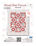 Winter Frost Flannel Quilt Kit