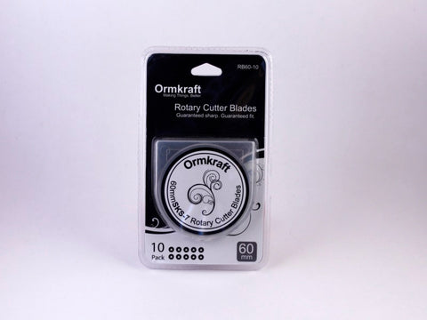 Ormkraft 60mm Rotary Cutter Blades (10 per package)