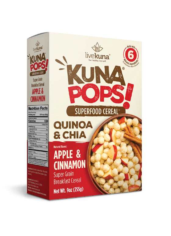 Superfood Cereal Puffs / Apples & Cinnamon 255g (9oz)