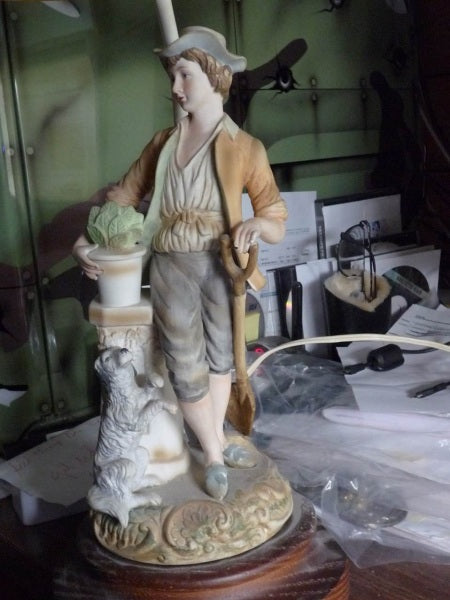 FAQ | Bisque Porcelain Figurines and Lamps