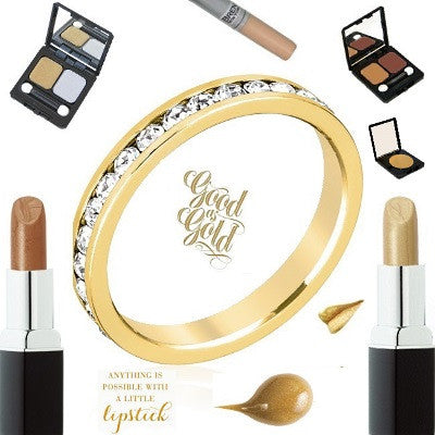 All That Glitters: How to Wear Gold Makeup
