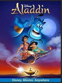 Everything Disney including popular characters like Aladdin