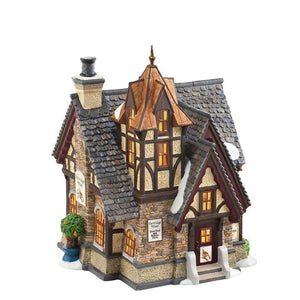 Christmas Villages make a perfect gift, collect all the different shops and and enjoy