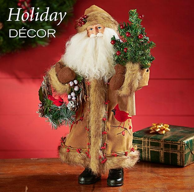 Christmas | Santa Figurines by Kurt Adler | Gifts and Collectibles