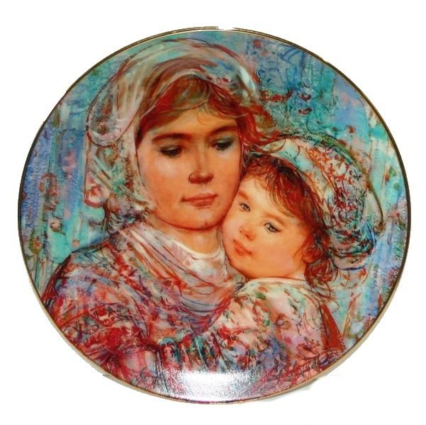 Art | Edna Hibel Art Ornaments and Collector Plates | Gifts and Collectibles