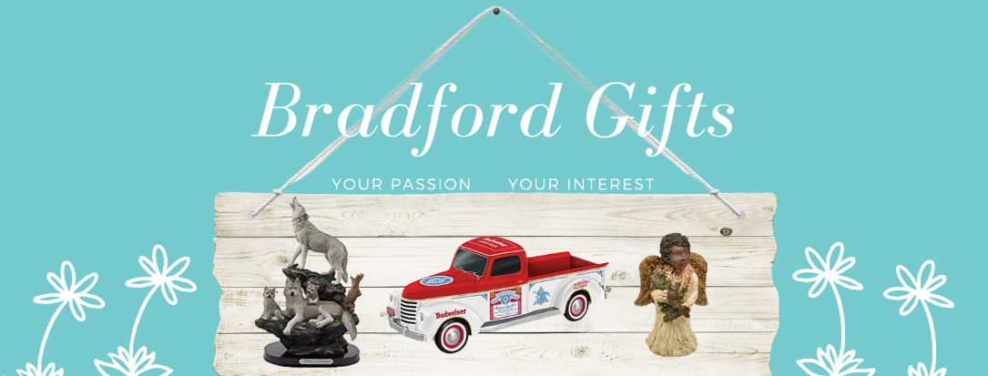 Bradford Gifts and Collectibles including African Americana, Alfred Durante and Wolf Figurines