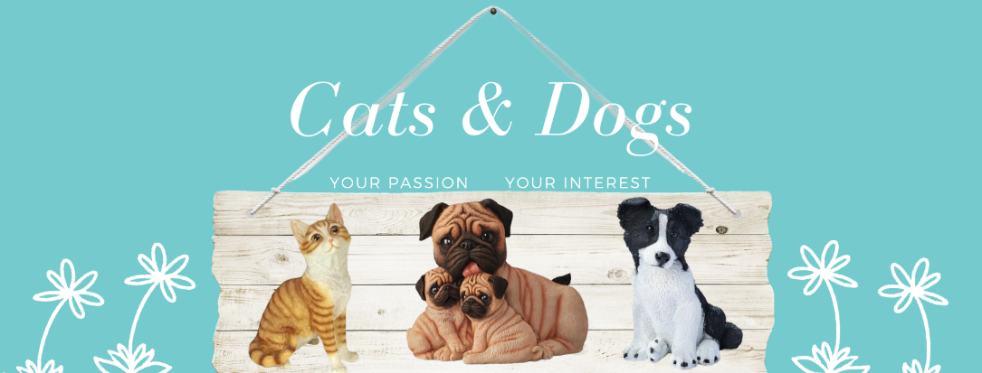 Our complete collection of cat and dog sculptures and figurines make the perfect gift for the animal lover
