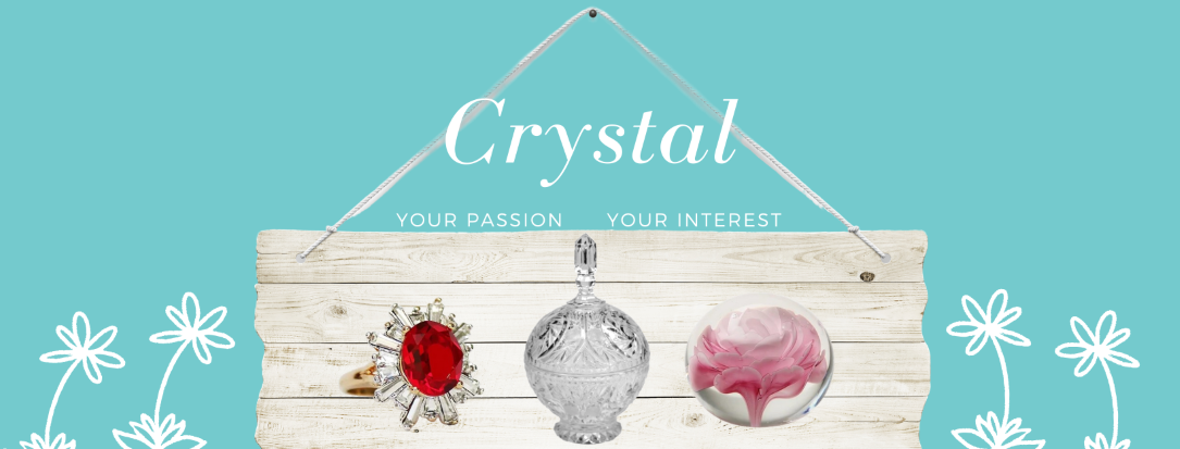 Crystal glass, birthstone angles, jewelry and other crystal products are amazing gifts and fun to collect