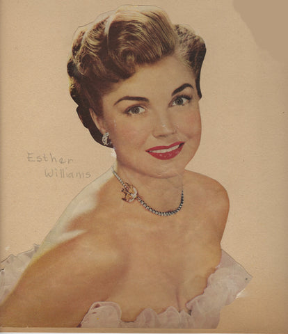 Esther Williams Memorabilia