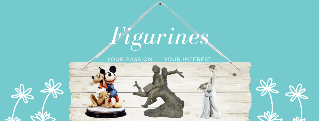 Collectible Figurines represent a human, animal or deity and take on many forms of media. They are an expression of your personality and tastes, perfect for home decor