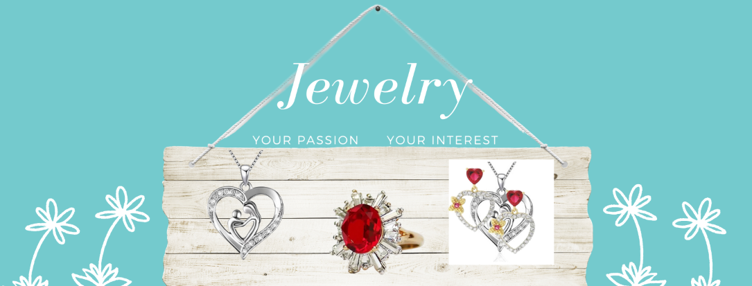 The latest style of rings, earrings, necklaces, bracelets and watches