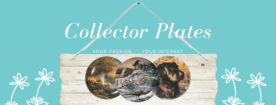 Collector plates have grown in popularity due to artists like Edna Hibel, David Grossman and Terry McLean. Perfect for home decor and accents