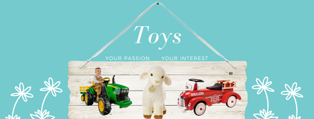 Toys that are great for collecting including cars, trucks, Disney, plush and stuffed animals and more