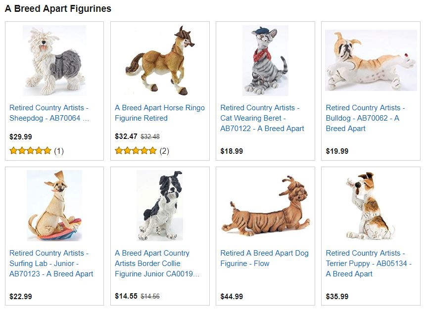 A Breed Apart Figurines