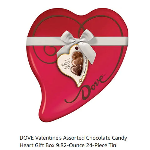 Valentine Heart Chocolate Candy