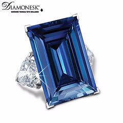 Shop today for a diamonesk simulated blue sapphire rind