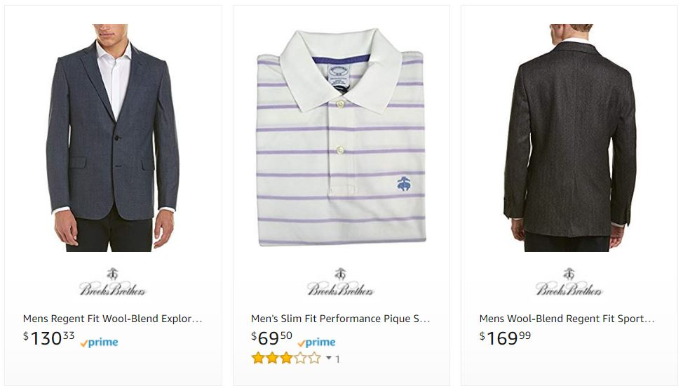 Brooks Brothers Apparel