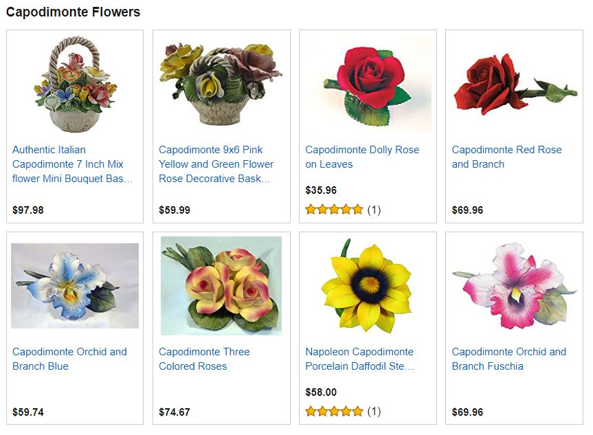 Capodimonte Flowers For Sale