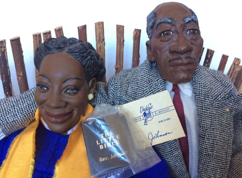 Daddy Long Legs Dolls Sister Carter and Reverend Johnson
