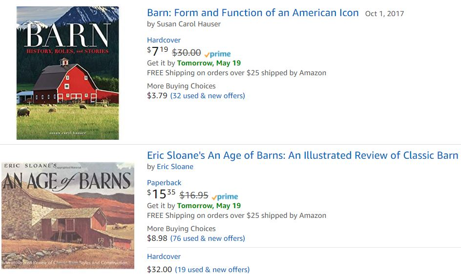 America's Country Barns Book