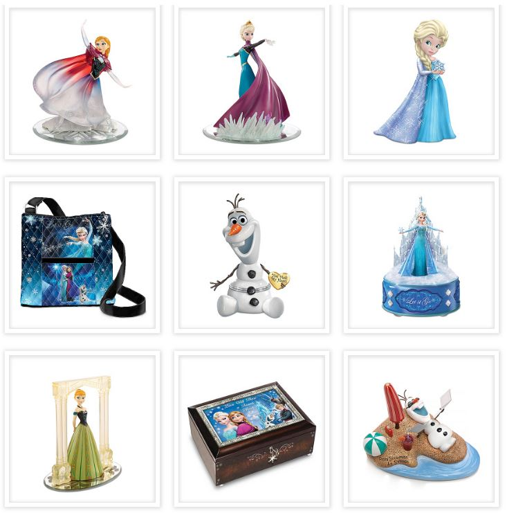 Frozen Disney Collectibles