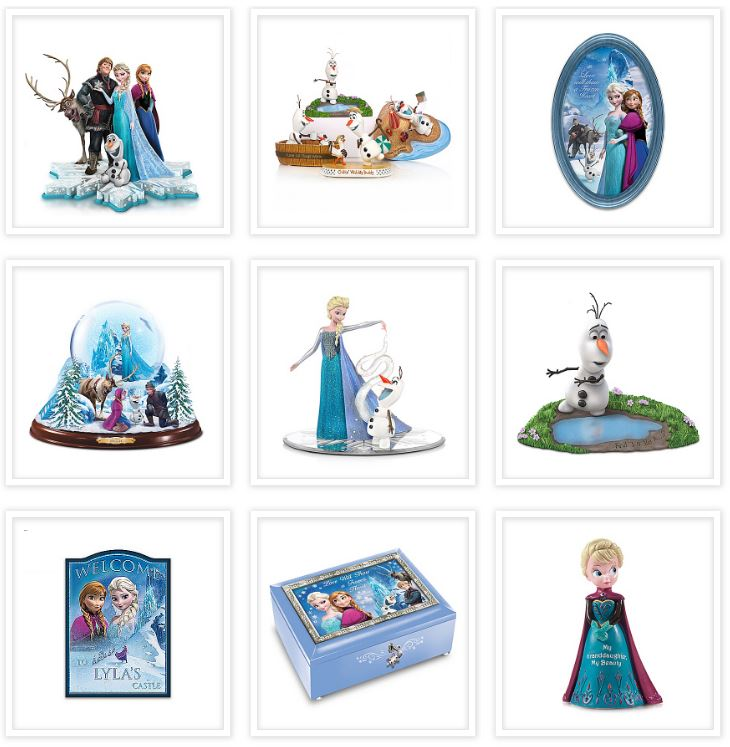 Disney Frozen Collectibles Figurines