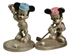 Mickey and Minnie Mouse Golfers