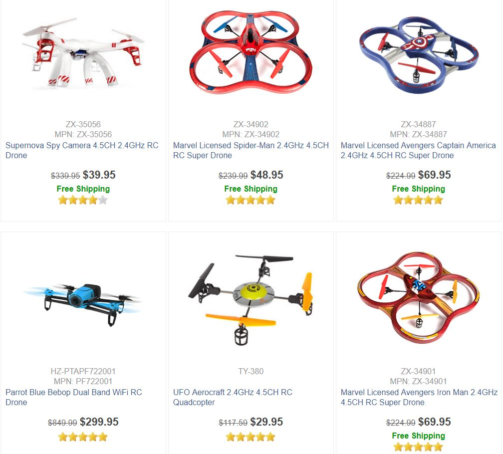 Large Drones For Sale