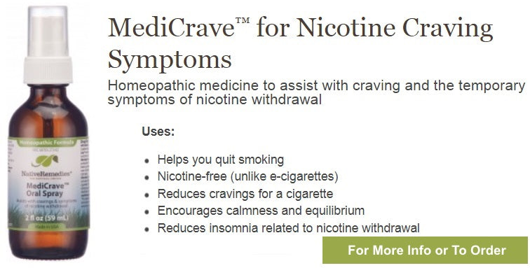 Supplement For Symptoms of Nicotine Withdrawal
