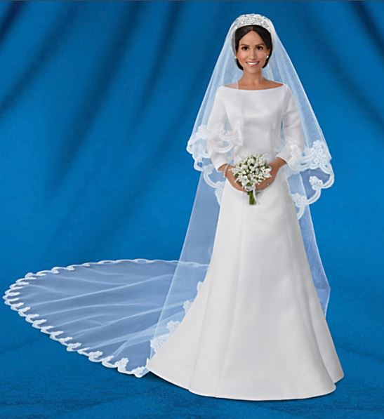 Meghan Markle Royal Wedding Bride Doll