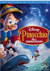 Pinocchio Movie DVD