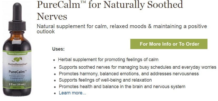 Herbal supplement for nervousness and tension