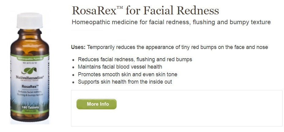 Herbal Supplement For Facial Redness