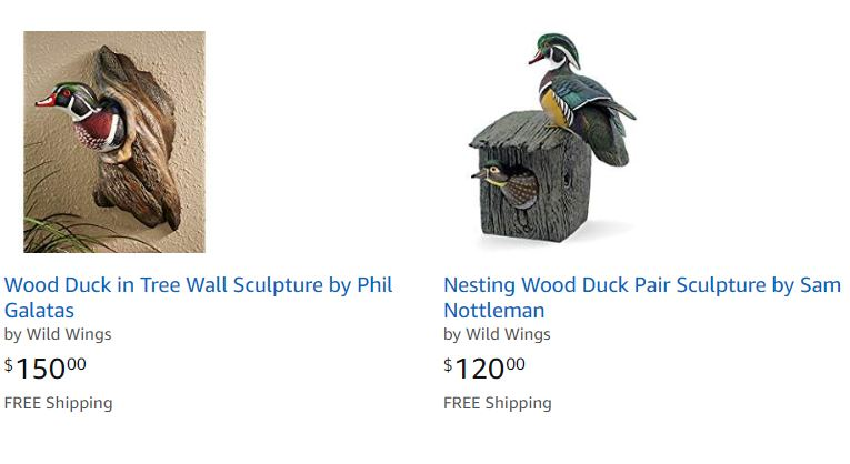 Wood Duck Decoys For Sale